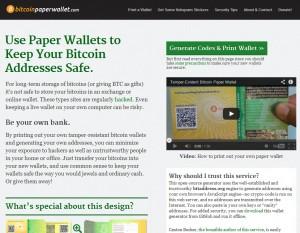 paperwallet