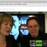 Bitcoin hangout with Max Keiser: The Napster of currency