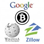 Bitcoin Draws Interest From Google, Wikipedia, Zillow Leaders