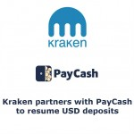 Kraken partners with PayCash to resume USD deposits, adds GBP trading