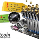 Crazy ASRock motherboards support 6 graphics cards for hardcore Bitcoin mining