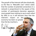 Tech People Are Passing Around This Paul Krugman Quote On The Internet