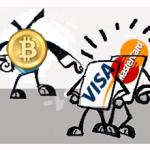 Bitcoin Targets Payments Business of Giants Visa to JPMorgan