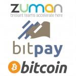 Zuman, BitPay to Offer Bitcoin Paychecks